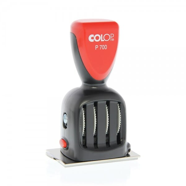 Colop plaat-datumstempel P 700/16 (60x40 mm - 8 regels)