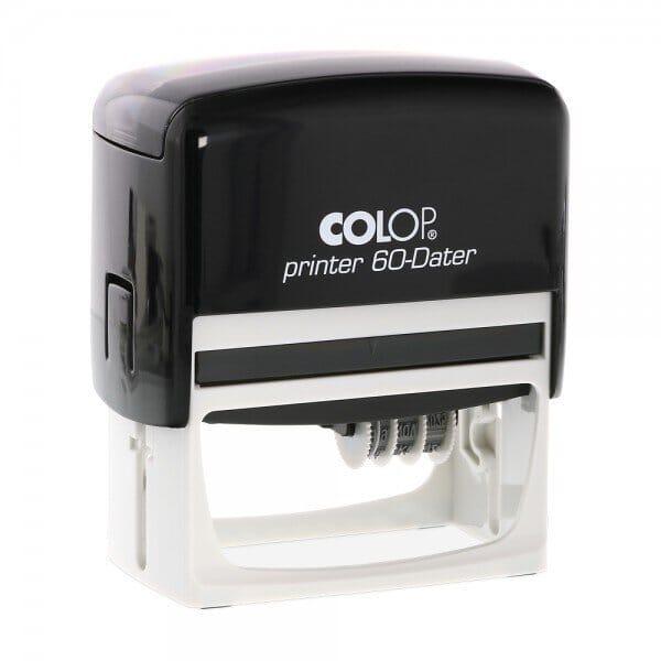 Colop Printer 60 Dater rechts (76x37 mm - 3+3 regels)