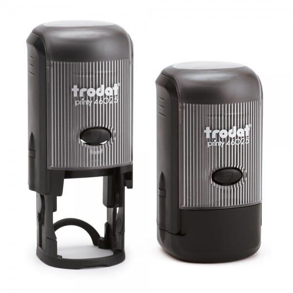Trodat Printy 46025 - Tekststempel rond - Dm. 25 mm - 5 regels