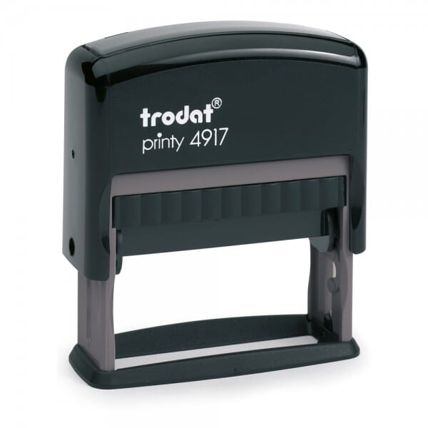 Trodat Printy 4917 - tekststempel - 50 x 10 mm - 2 regels