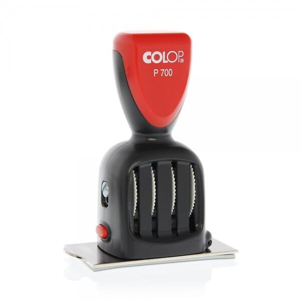 Colop plaat-datumstempel P 700/17 (70x40 mm - 8 regels)