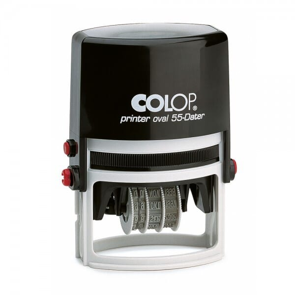 Colop Printer ovaal 55 Dater (55x35 mm - 2+2 regels)