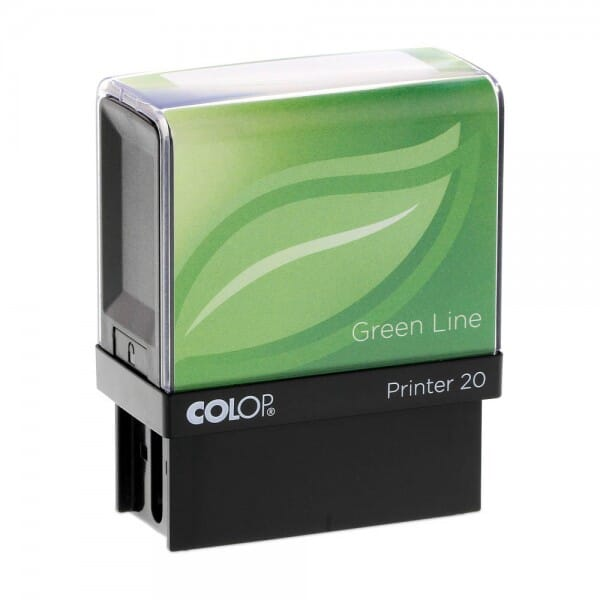 Colop Printer 20 Green Line (38x14 mm - 4 regels)