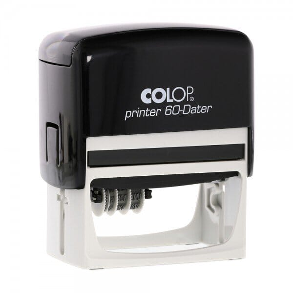 Colop Printer 60 Dater links (76x37 mm - 3+3 regels)