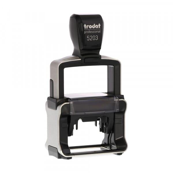 Trodat Professional 5203 - tekststempel - 49 x 28 mm - 6 regels